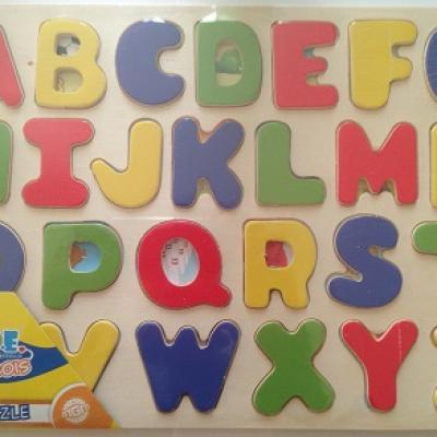 Puzzle en bois Alphabet