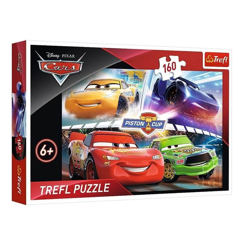 Puzzle cars 160 pieces trefl