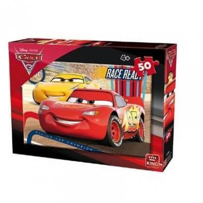 Puzzle cars 3 disney 50 pieces