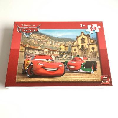 Puzzle cars disney 24 pieces 3 ans et plus