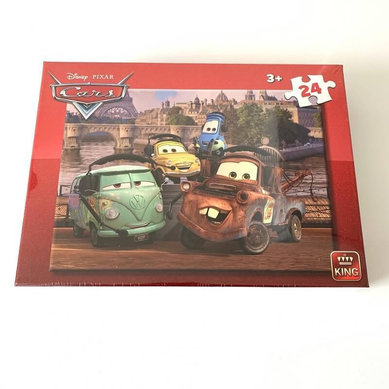 Puzzle cars disney 24 pieces