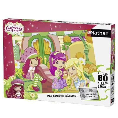 Puzzle Charlotte aux fraises de 60 pièces