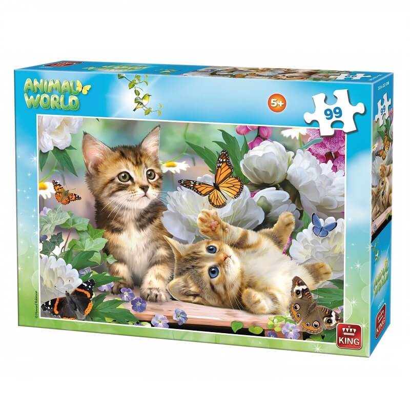 Puzzle chatons 99 pieces