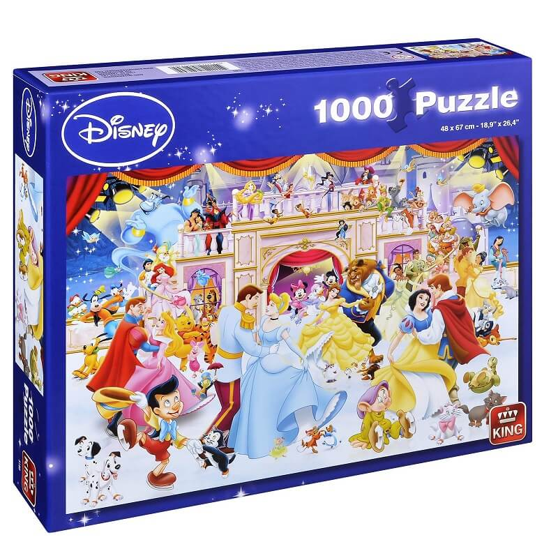 Puzzle disney holiday on ice 1000 pieces