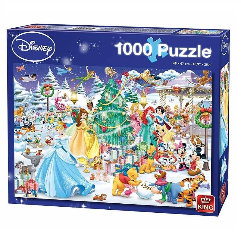 Puzzle disney la magie de noel 1000 pieces