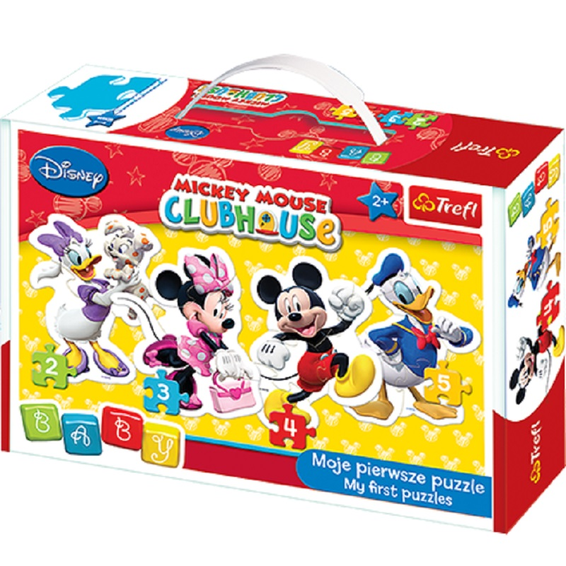 Puzzle Disney Mickey Mouse club house