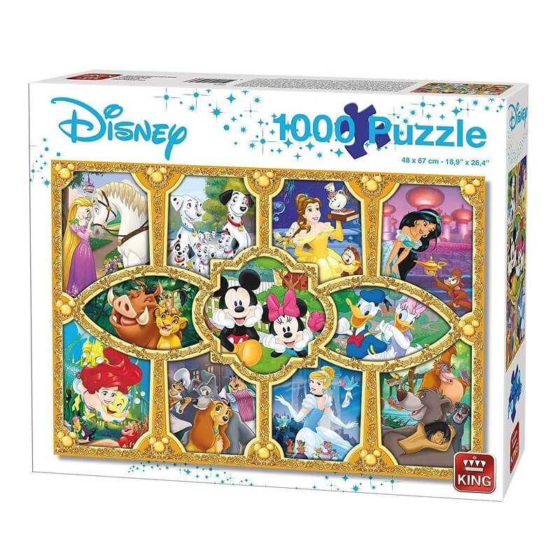 Puzzle disney moments magiques 1000 pieces