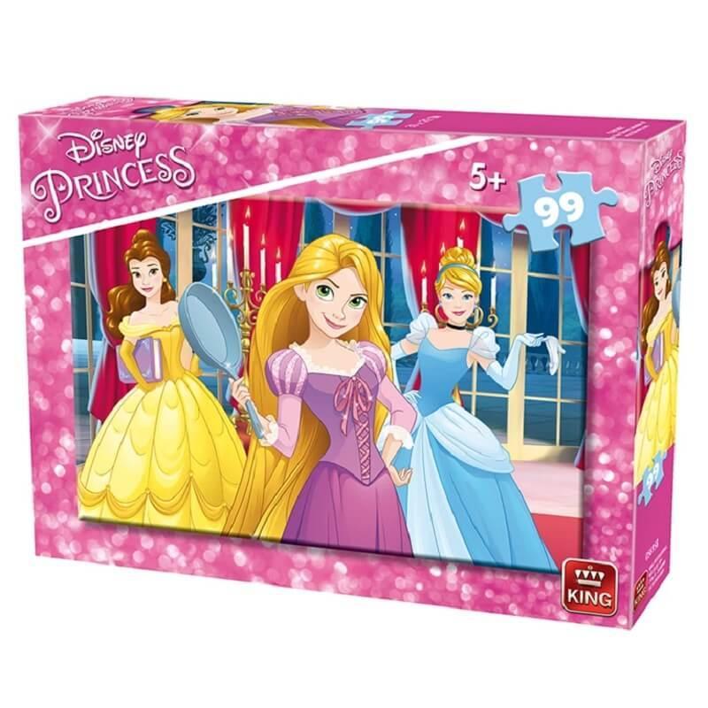 Puzzle disney princesses 99 pieces version 2