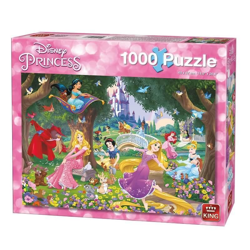 Puzzle disney princesses a la campagne 1000 pieces