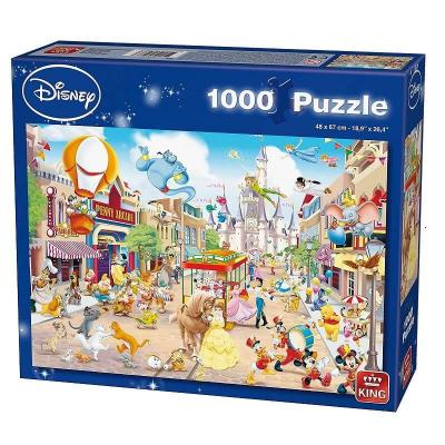 Puzzle disneyland la parade disney 1000 pieces