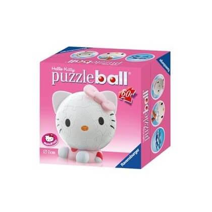 Puzzle enfant 3d hello kitty ravensburger 1