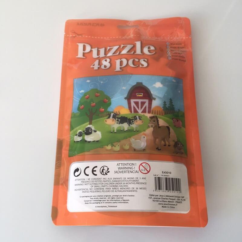Puzzle enfant animaux de la ferme 48 pieces
