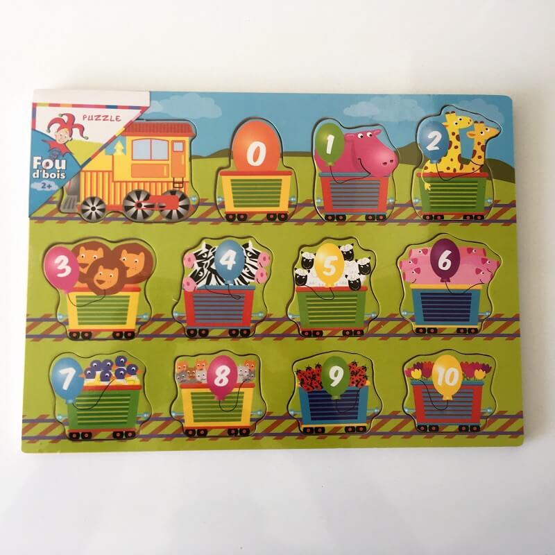 Enfant Chiffres Des Train Puzzle Le 3ARqj54L