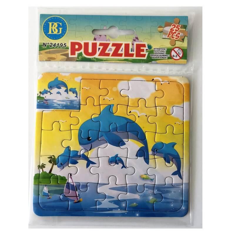 Puzzle enfant les dauphins