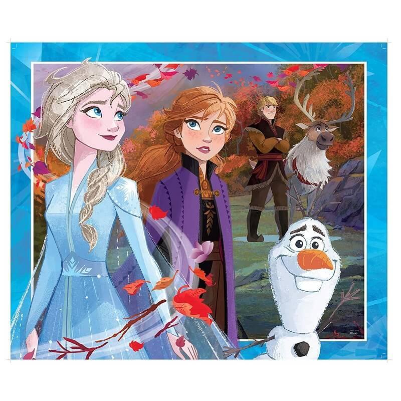 Puzzle geant la reine des neiges 24 pieces