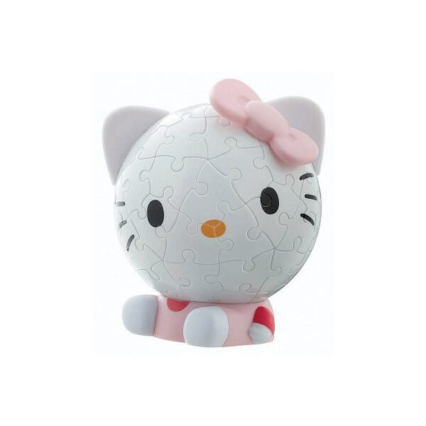 Puzzle hello kitty 60 pieces puzzle 3d ball hello kitty