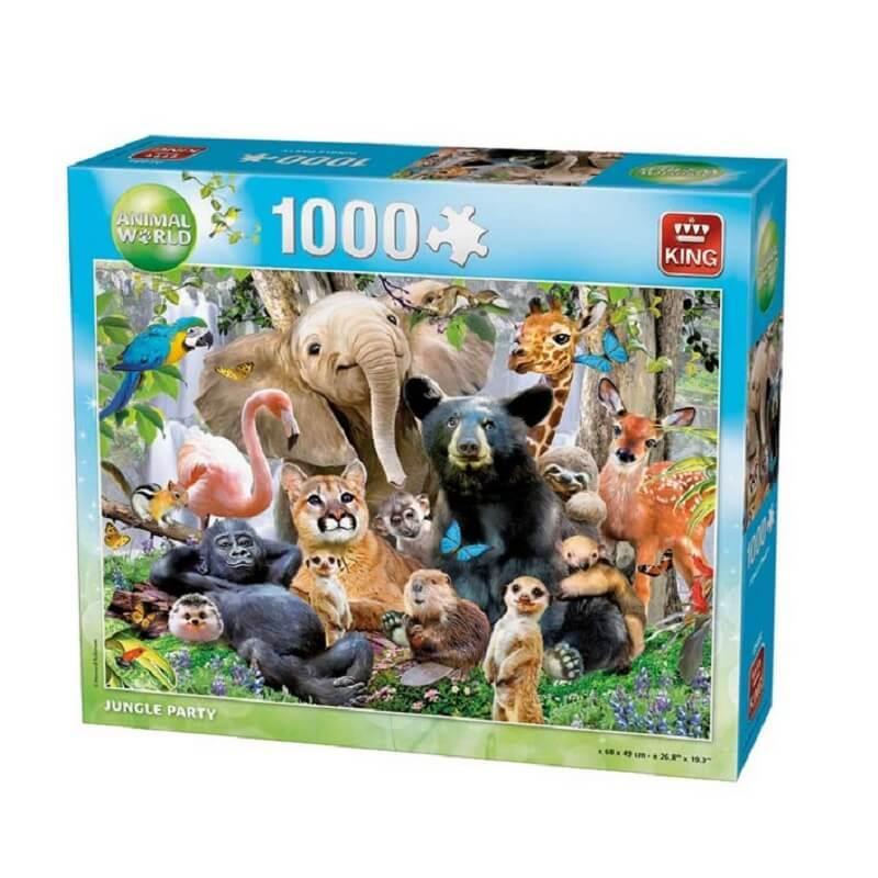 Puzzle jungle party 1000 pieces