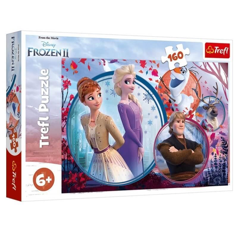 Puzzle la reine des neiges 2 160 pieces
