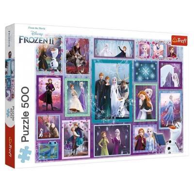Puzzle La reine des neiges 2 de 500 pièces Trefl