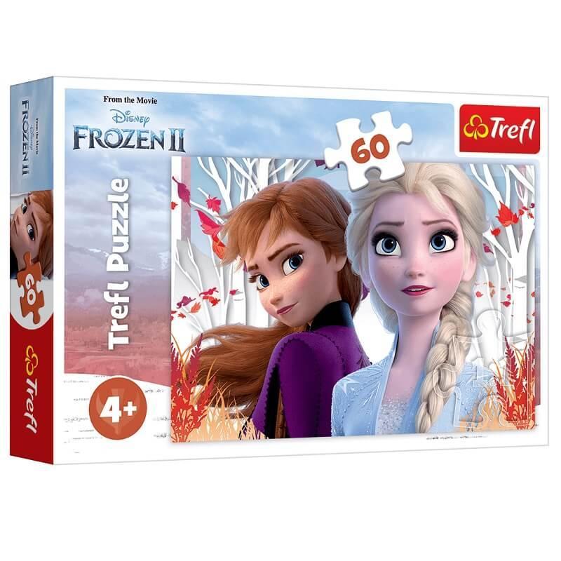 Puzzle la reine des neiges 2 de 60 pieces trefl