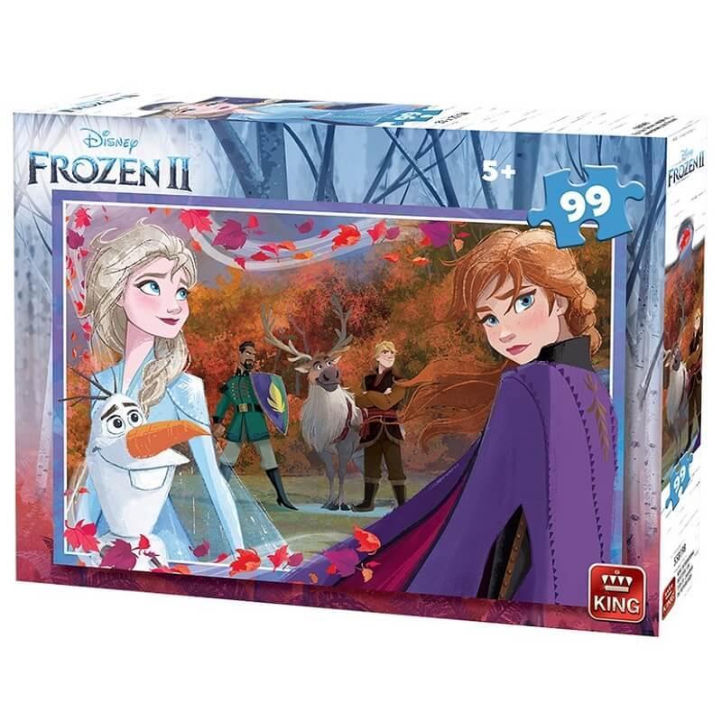 Puzzle la reine des neiges 2 disney de 99 pieces version 1 king