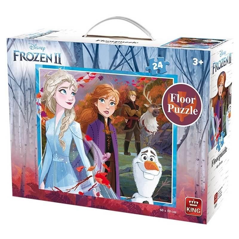 Puzzle la reine des neiges 2 geant king 24 pieces