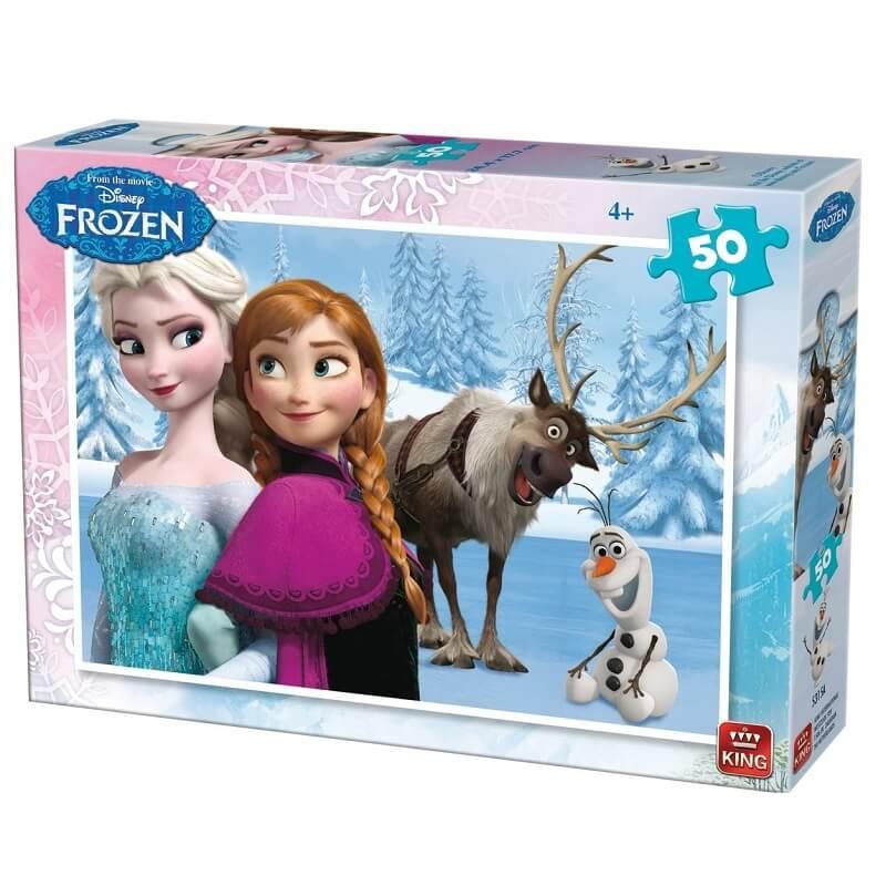 Puzzle la reine des neiges 50 pieces version 1