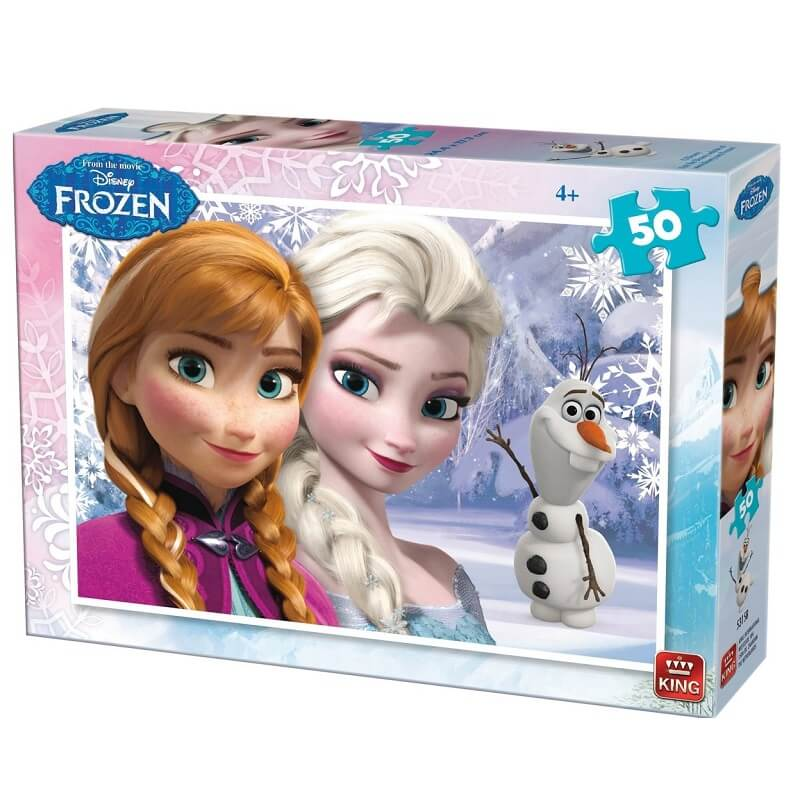 Puzzle la reine des neiges 50 pieces version 2