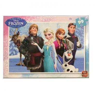 Puzzle La reine des neiges Disney de 99 pièces