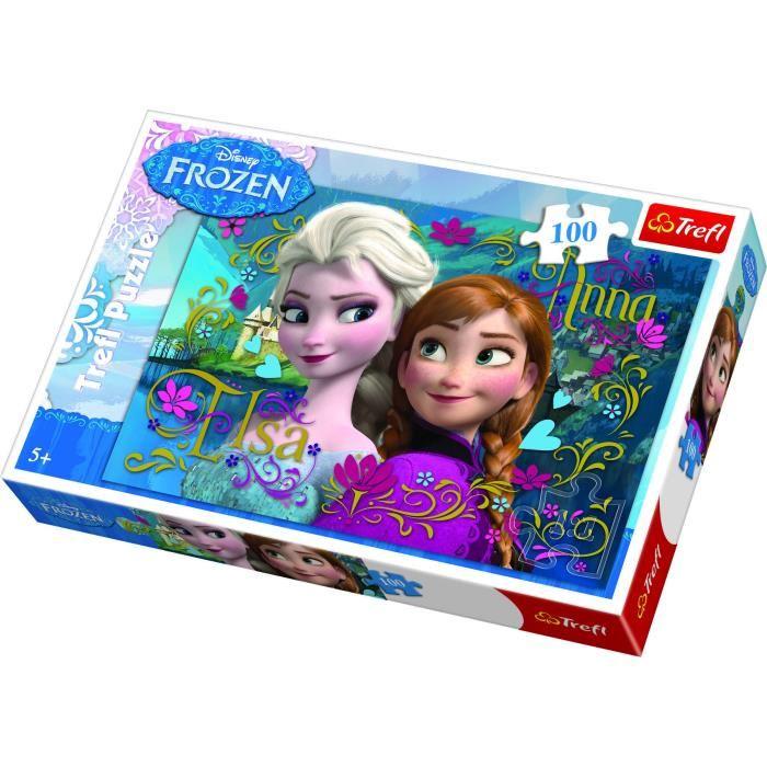 Puzzle La reine des neiges 100 pièces