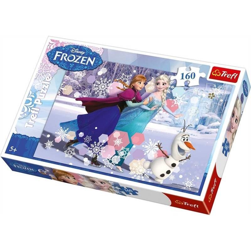 Puzzle la reine des neiges anna et elsa 160 pieces