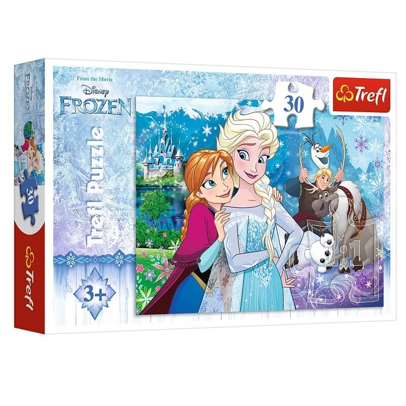 Puzzle la reine des neiges disney 30 pieces