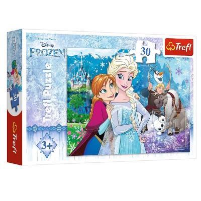 Puzzle La reine des neiges Disney 30 pièces
