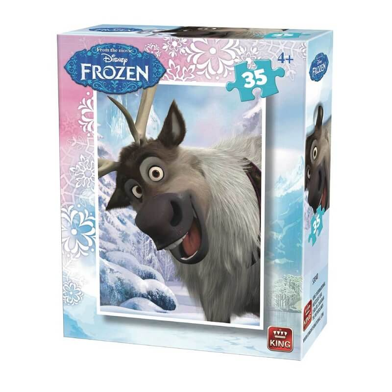 Puzzle la reine des neiges sven disney