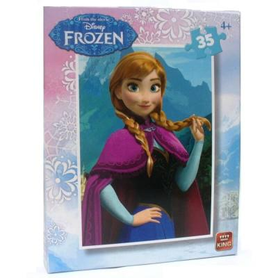 Puzzle La reine des neiges version Anna