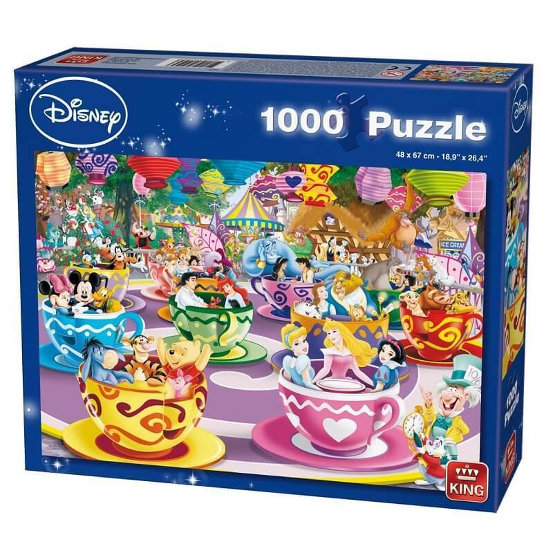 Puzzle le manege disney 1000 pieces
