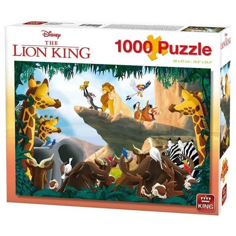 Puzzle le roi lion disney 1000 pieces