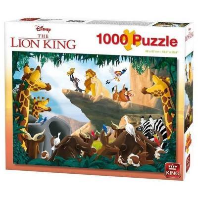 Puzzle Le roi lion 1000 pièces Disney