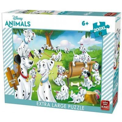 Puzzle les 101 dalmatiens disney 200 pieces xl
