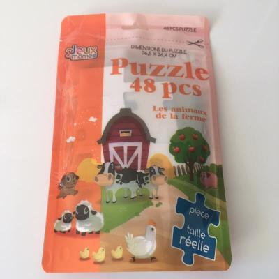 Puzzle Les animaux de la ferme de 48 pièces