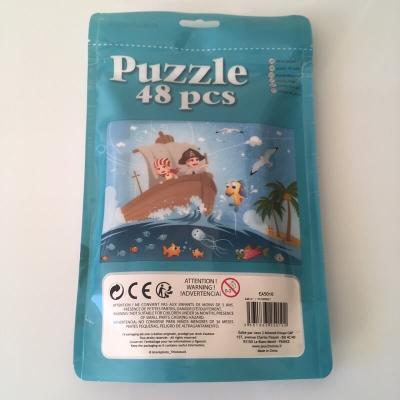 Puzzle les pirates en mer