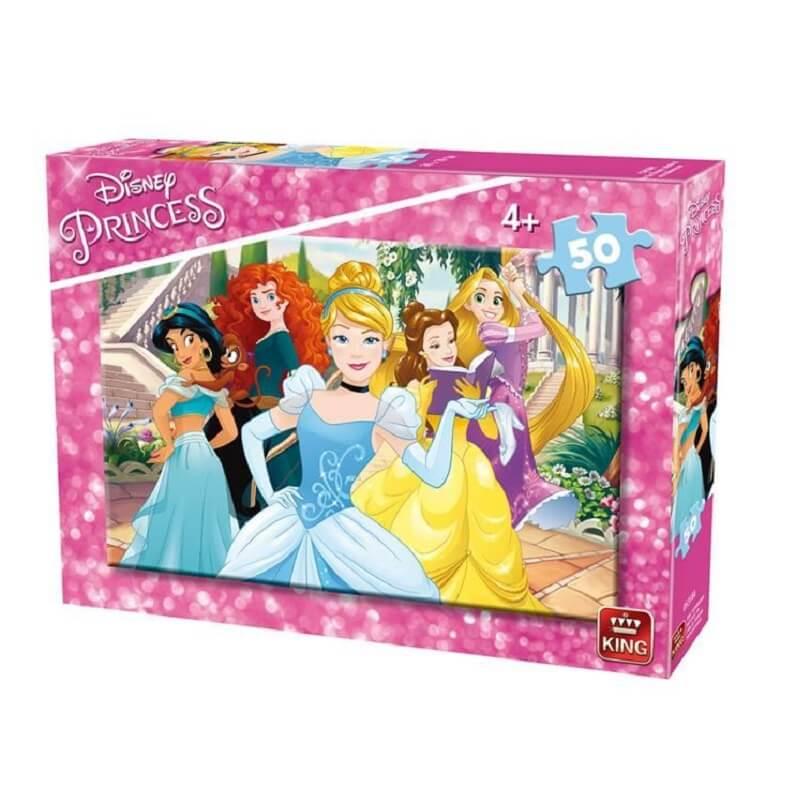 Puzzle les princesses disney 50 pieces version 1