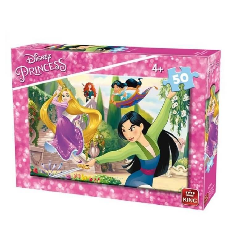 Puzzle les princesses disney 50 pieces version 2