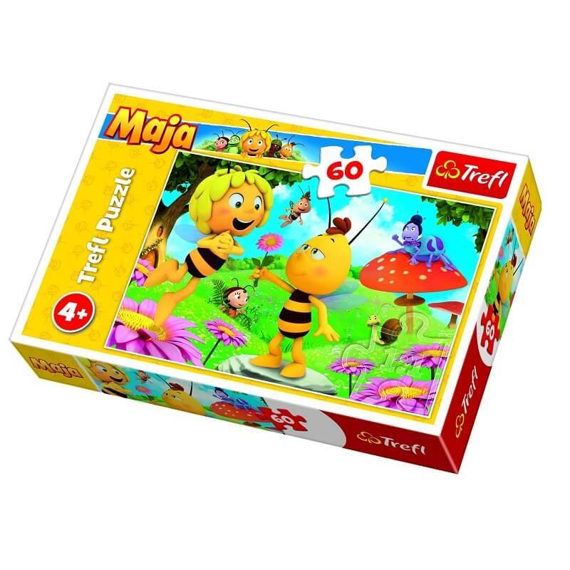 Puzzle maya l abeille 60 pieces treft