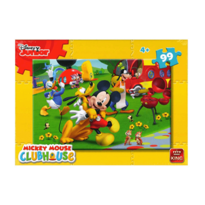 Puzzle Mickey Club House à la campagne