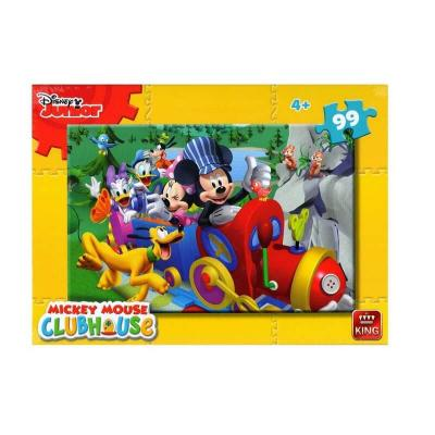 Puzzle Mickey Club House dans le train