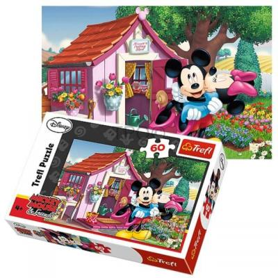 Puzzle Mickey et Minnie sous licence Disney