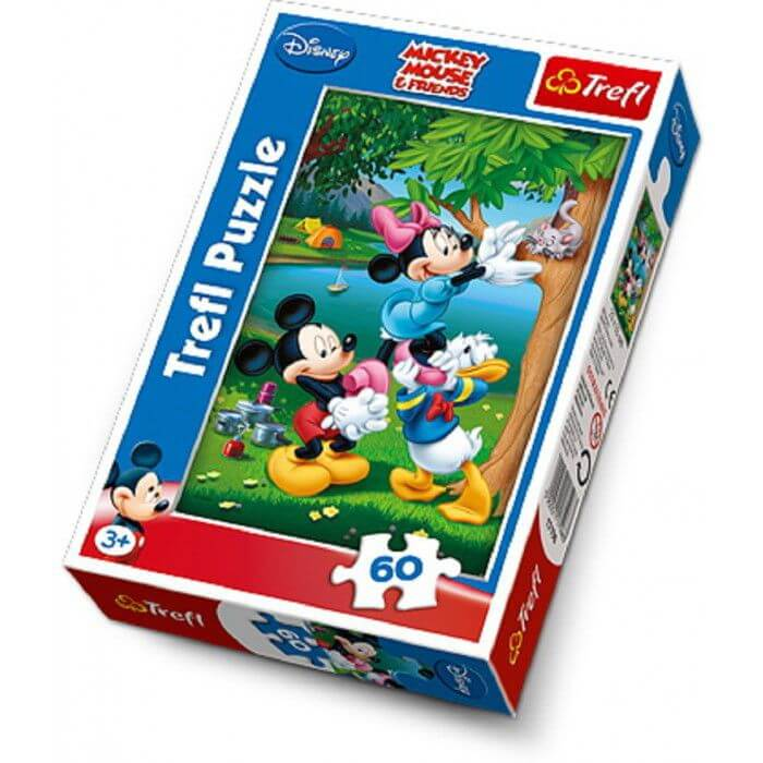 Puzzle enfant Mickey, Minnie et Donald