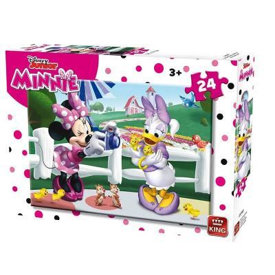 Puzzle Minnie et Daisy Disney de 24 pièces