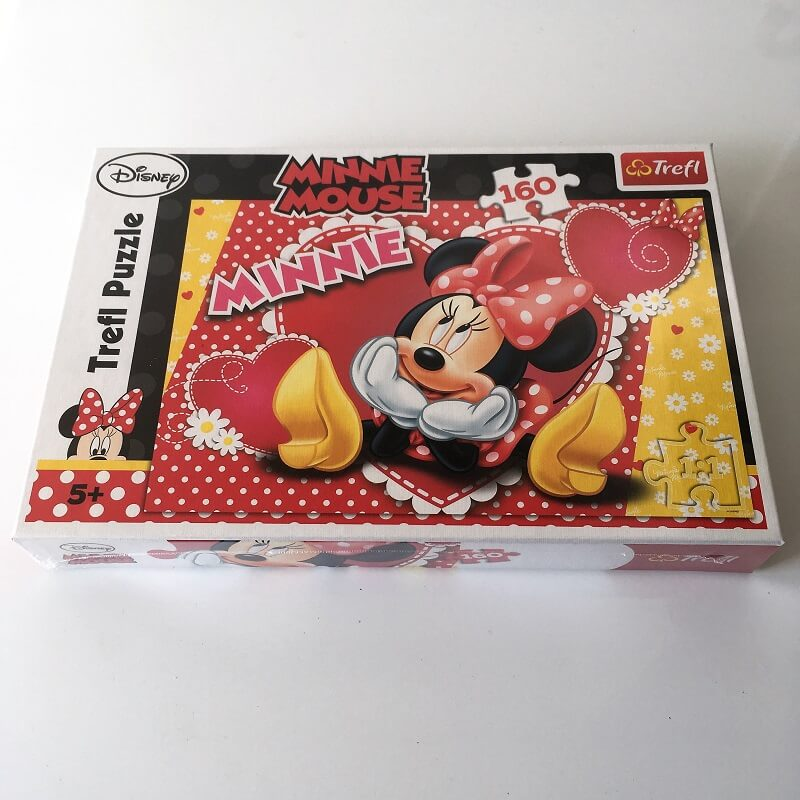 Puzzle minnie disney de 160 pieces puzzle 5 ans et plus jpg